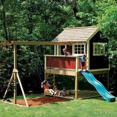 Backyard Playhouse Plan - Rockler Woodworking Tools