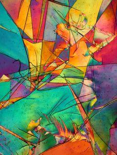 Polyethylene under the microscope
