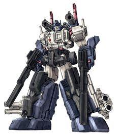 Optimus Prime-Super Mode color  by ~Blitz-Wing