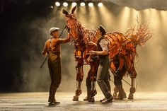 Photo Flash: WAR HORSE Launches National Tour in LA! #WarHorse #Musical #Theatre