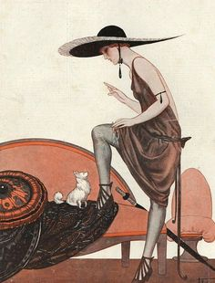 Illustration by Armand Vallee, For La Vie Parisienne, 1922