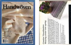 Handwoven /Ecclesiastical Weaving Magazine and Pattern Book January/February…