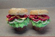 Must See Sandwich Cupcakes - Foodista.com