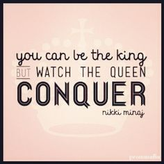 Take notes. #empower #women #queen