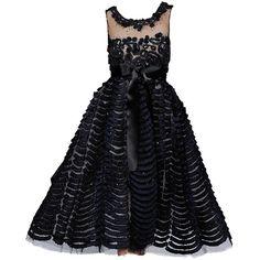 Oscar de larenta ❤ liked on Polyvore featuring dresses, gowns, vestidos and oscar de la renta
