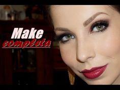 Maquiagem completa e muito fácil, com Lu Ferraes - YouTube