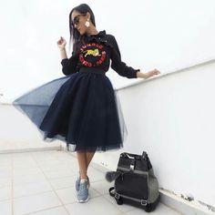 Tulle, Skirts, Fashion, Moda, Fashion Styles, Tutu, Skirt, Fashion Illustrations