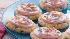 Funfetti Cookies!!! (cake box)