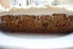 Sourdough Carrot Cake.