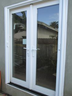 Check Out This Installation Our Team Did Of 4 Double Door Retractable  Screens On Outswinging French Doors! Weu0027re The Go To Team For Any Of Your  Retu2026
