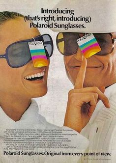 88be0f1abca43 Polaroid Sunglasses Ad My Childhood, Vintage Advertisements, Vintage Ads,  Vintage Stuff, Vintage