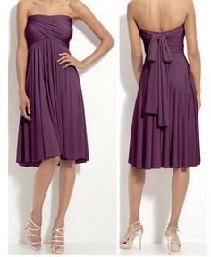 A convertible dress would be kinda cool. purplen00dle