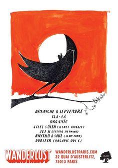 Organic | Wanderlust | Paris | https://beatguide.me/paris/event/wanderlust-organic-20130908/poster/