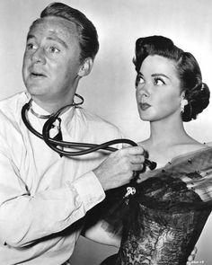 Van Johnson and Kathryn Grayson in a publicity photo for Grounds For Marriage, a film that, sadly, is unavailable for purchase. If you ever...