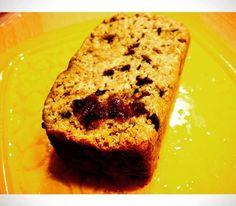 Delish Banana Raw Chocolate Cranberry Bread! www.thebakinghipster.com