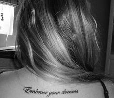 tattoo quote | Tumblr