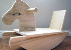 Personalized Mod Toddler Rocking Horse — Family Find