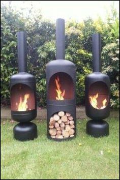 Gas Bottle Wood burner/ Log Burner / Chiminea/patio heater/ fire pit/yurt/ in Garden & Patio, Barbecuing & Outdoor Heating, Firepits & Chimeneas Metal Projects, Welding Projects, Outdoor Projects, Diy Projects, Simple Projects, Welding Ideas, Gas Bottle Wood Burner, Gas Bottle Bbq, Home Garden Design