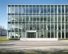Nissen Wentzlaff - Roche Pharma marketing building, Grenzach-Wyhlen 2007. Photos © Ruedi Walti.
