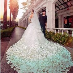 Petals bride wedding dresses $566.80  Ilovecutefashion.com