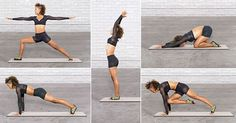Sculpt muscles, boost balance, and improve focus with this yoga flow.