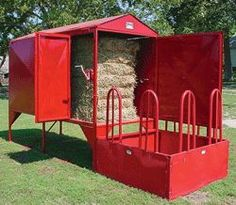 Hay Storage and Feeder