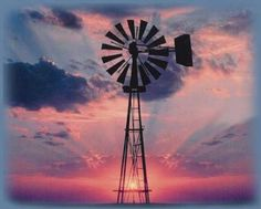A windmill is an example of radial design.