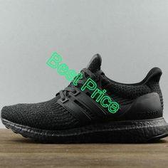 8076fc0b1a0 2018 Genuine Adidas Ultra Boost 3 0 Triple Black BA8920 sneaker. More  information. More information. Air Jordan 1 Mid Easter University ...