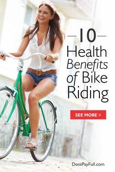 10 Health Benefits of Bike Riding #DontPayFull