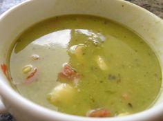 Sopa de Ervilha - Veja mais em: http://www.cybercook.com.br/receita-de-sopa-de-ervilha.html?codigo=106887