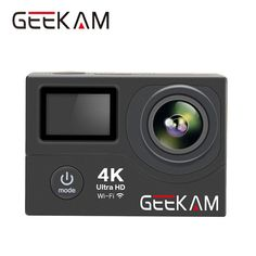 Original GEEKAM H3/H3R Action Camera 4K wifi Ultra HD 1080P 60FPS 30M Go Waterproof Pro Hero 4 Style Extreme Sport Video Camera //Price: $71.73//     #storecharger