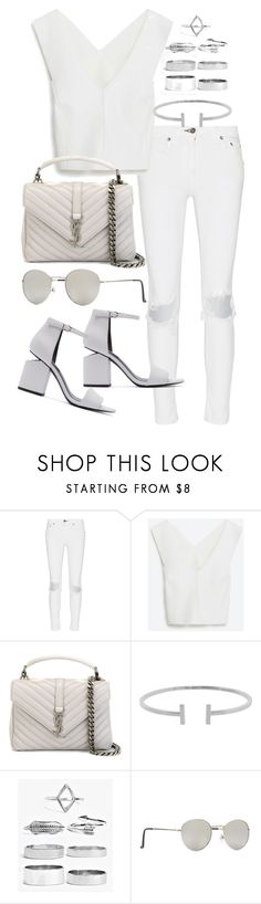 """""""Untitled #20008"""" by florencia95 ❤ liked on Polyvore featuring rag & bone, Yves Saint Laurent, Humble Chic, Boohoo, Forever 21 and Alexander Wang"""