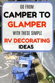 Think RV remodel and decorating is too hard to do? These simple RV makeover and decorating ideas can help you to spruce u Camping Must Haves, Rv Camping Tips, Travel Trailer Camping, Camping Car, Camping Essentials, Travel Trailers, Camping Ideas, Travel Trailer Living, Travel Trailer Decor