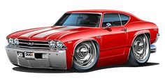 Madd Dogg's Muscle Car Art | madd doggs 1968 69 chevrolet chevelle ss musclecar t shirts maddmax