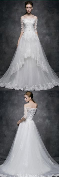 Lace wedding dress. Brides want to find themselves finding the ideal wedding, however for this they need the ideal bridal dress, with the bridesmaid's dresses actually complimenting the brides dress. Here are a variety of tips on wedding dresses.