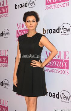 Dia Mirza In Short Frock at Bollywood Beauties In Hot Short Frocks picture gallery picture # 17 : glamsham.com