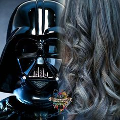 My awesome friend Mel brought me I  this inspiration picture today!  She loves star wars as much as me I used @kenraprofessional #kenracolor #guytangfavorites #metallicobsession #guytanghairbattle #kenracolor #starwarspoplocks #starwars #theforceawakens # @bottleblonde76 @lollypoplocks @rachellaroux @nothingbutpixies @imallaboutdahair