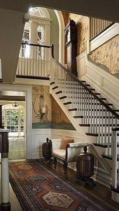 Villa Plan, Design Entrée, House Design, Design Ideas, Design Room, Foyer Decorating, Interior Decorating, Decorating Ideas, Interior Ideas