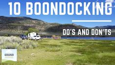 "RVers call dispersed camping, or camping outside of a campground without hookups or other facilities, ""boondocking."" But if you're new to boondocking, you mi. Rv Camping Tips, Camping Activities, Outdoor Activities, Rv Tips, 2014 Toyota Tundra, Portable Inverter Generator, Rv Parks, Forest River, Camping With Kids"
