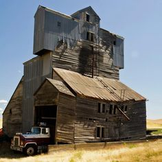 An unusual/unique building in Eastern Washington Palouse HYW 195 south..by Pullman, Wa. . Looks like it's had several add-on's over the years.  Photo Credit- Tony Locke - Tony Locke Photography