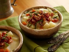 Potato and Beer Soup - sound great for when the weather is cool!