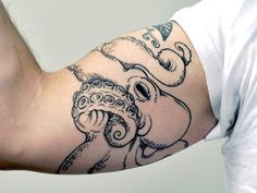 octopus tattoo ideas 26 Provocative Arm Tattoo Ideas For Men