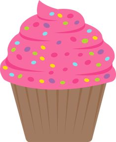 no way all sorts of cute cupcake cliparts for free laminate them rh pinterest com Cupcake Clip Art Black and White cupcake images clipart