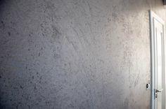 tynk dekoracyjny imitujący beton / decorative plaster imitating concrete