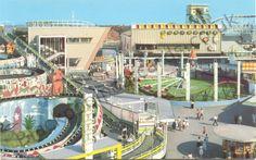 The Funhouse on the Pleasurebeach. Blackpool Pleasure Beach, Morecambe, Amusement Park, Marina Bay Sands, Past, Fair Grounds, Tower, Places, Travel