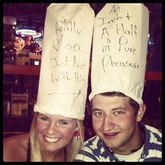 Dicks Last Resort... There's One in Las Vegas! Where the staff are purposefully rude and they make you a paper hat with an insult x