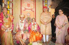 Yaduveer Krishnadatta Chamaraja Wadiyar Trishika Kumari Singh at the Amba Vilas…