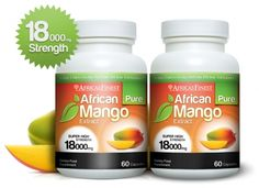 Africas Finest Pure African Mango Extract 18,000mg (120 Capsules) 2AFRICANMANGO-18000-NEW