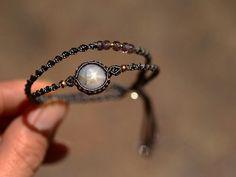 Double twist bracelet