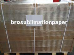 Premium sublimation paper 100gsm for Mimaki distributor again. www.brosublimationpaper.com